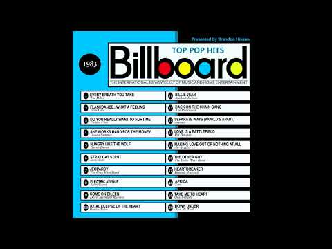 Billboard Top Pop Hits  1983