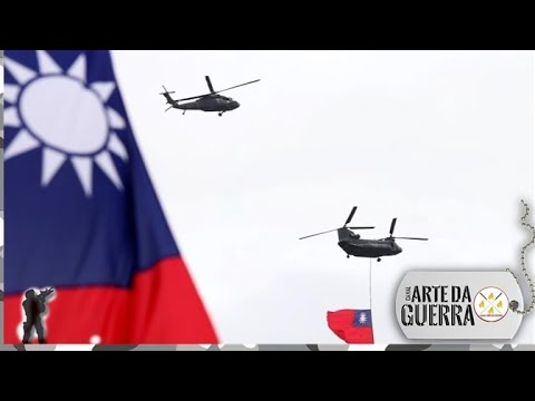 China alerta para guerra se Taiwan declarar Independência