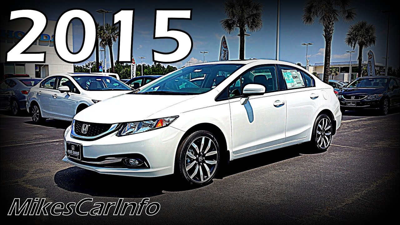 Captivating 2015 Honda Civic Sedan EX L   YouTube
