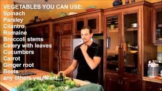 Cure Psoriasis Naturally - How To Make Green Juice To Heal Psoriasis
