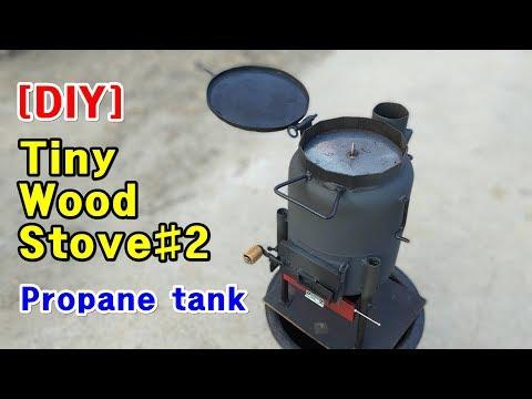 [DIY] Homemade Tiny Wood Stove#2