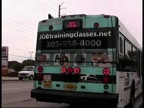 Audio Recording Of Miami Dade Transit S 2005 Nabi 40lfw 17