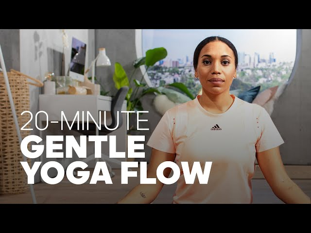 20-Minute Gentle Yoga Flow - Revive with Iman