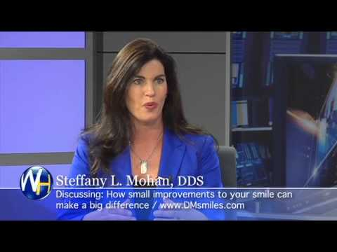Steffany Mohan, DDS Des Moines Iowa dentist discussing adult