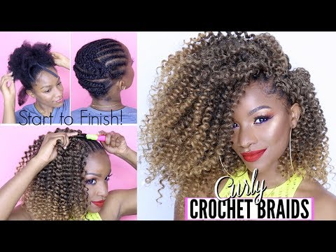 HOW TO: CURLY CROCHET BRAIDS FROM START TO FINISH