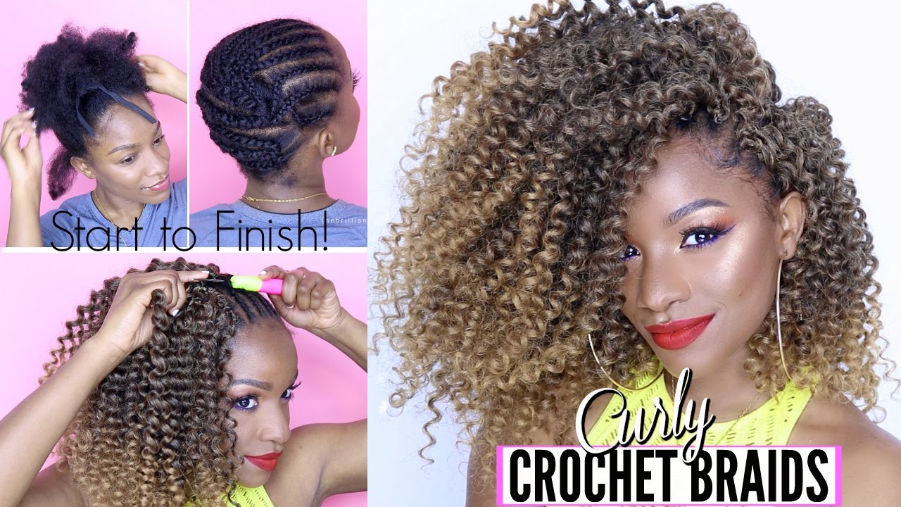 style hair and how to curly crochet braids from start to finish 2627