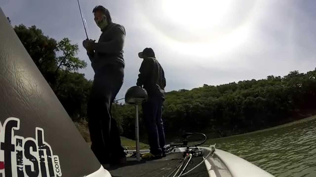 Lake sonoma bass fishing youtube for Lake sonoma fishing report