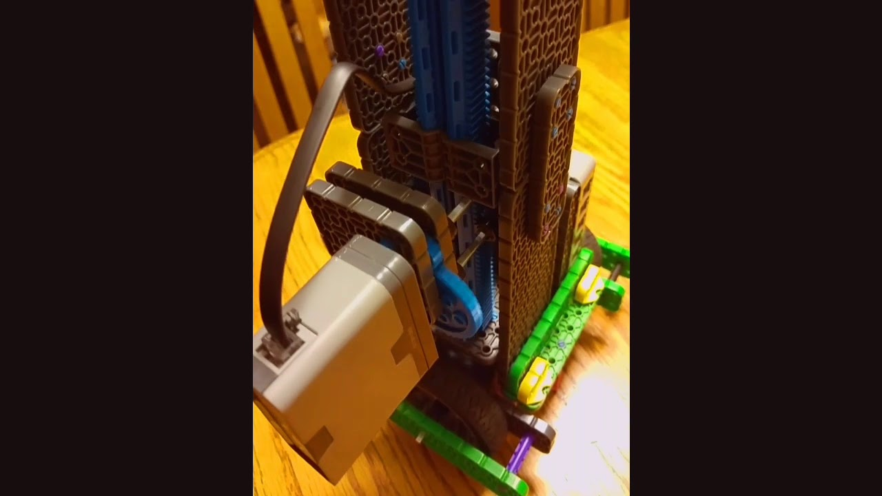 VEX IQ Building Instructions - Linear Gear Example by