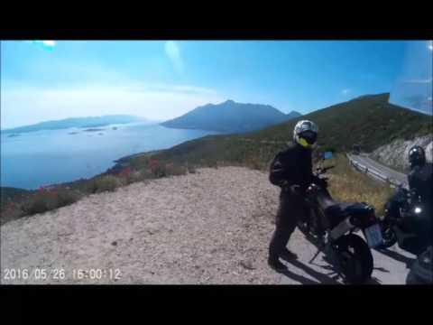 Adriatic coast motorcycle trip