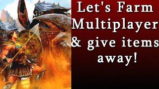 Titan Quest Atlantis  Multiplayer Farming & Trading!