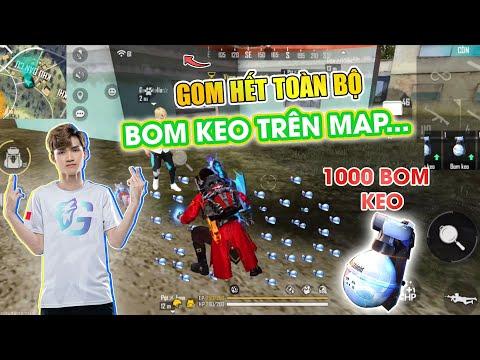 [Free Fire] Gao Bạc Thử Thách Lượm Hết Toàn Bộ Bom Keo Trên Map Liệu Sẽ Được Bao Nhiêu Trái Bom Keo?