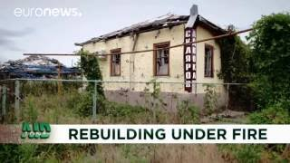 Aid Zone: Healing trauma and repairing homes in eastern Ukraine