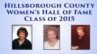 2015 Women's Hall of Fame Commission on the Status Women