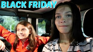 THANKSGIVING + BLACK FRIDAY SHOPPING! DIDN'T GO WELL! EMMA AND ELLIE