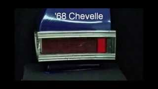 1968 Chevelle LED Sequential Tail Lights by Easy Performance Products