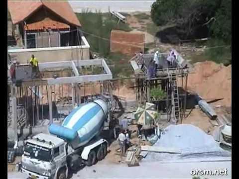 Baustelle in Afrika 2-Santier in Africa 2