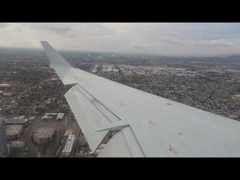 American Eagle (Mesa) Bombardier CRJ-900 [N911FJ] landing in PHX