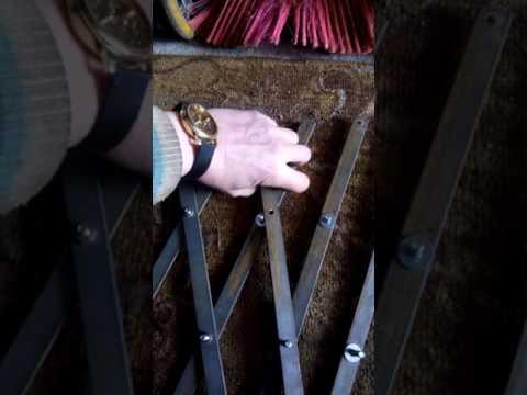 Раздвижные решетки на окна своими руками