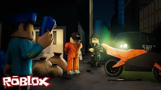 I BECAME a COP ALL CRIMINALS CAUGHT! -ROBLOX