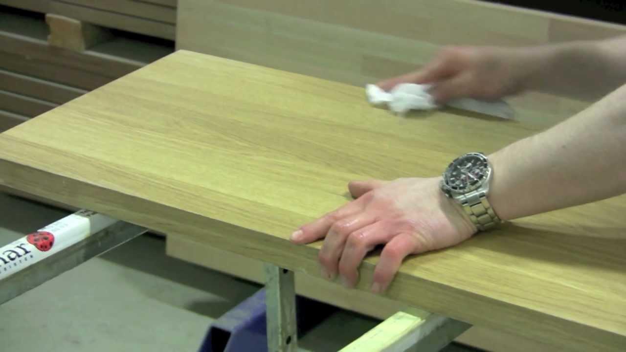 Kök Culimar : Culimar visar hur man vaxoljar sin massiva träbänkskiva