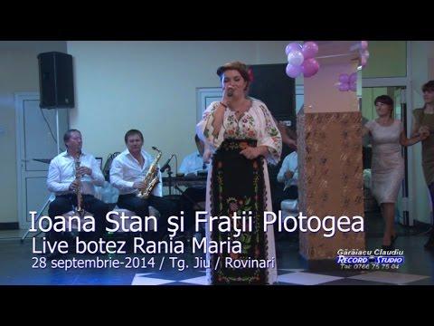 Ioana Stan si Fratii Plotogea (colaj HORA) LIVE botez Rania Maria 28-09-2014
