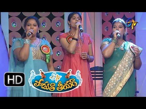 Mamidi Topullona Song   Swathi Performance in ETV Padutha Theeyaga 11th January 2016