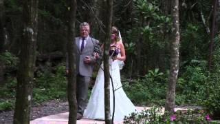 Wedding in the Woods, beautiful barn setting, rustic, elegant, beautiful reception, Brooksville Barn
