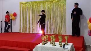 2019 国际标准舞拉丁舞表演 Latin dance performance 牛仔舞 Jive