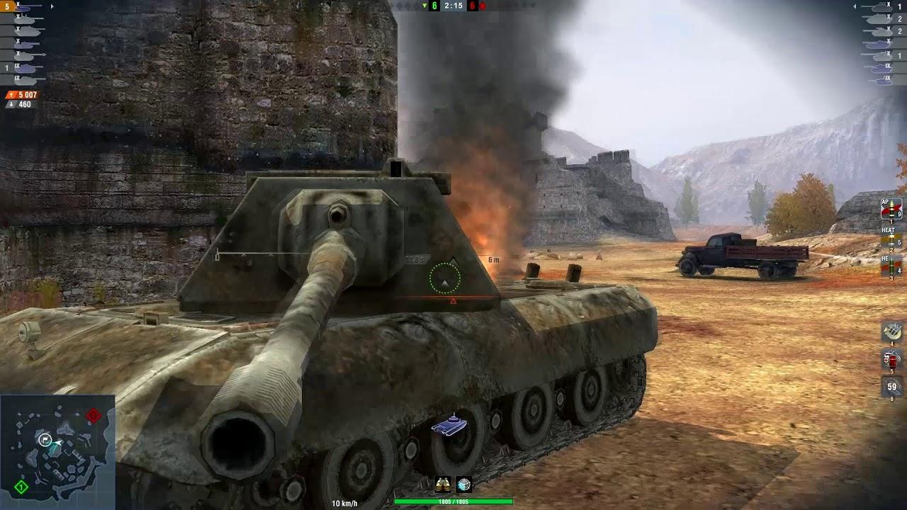 Leopard 1 & Grille 15 & Hafen - World of Tanks Blitz