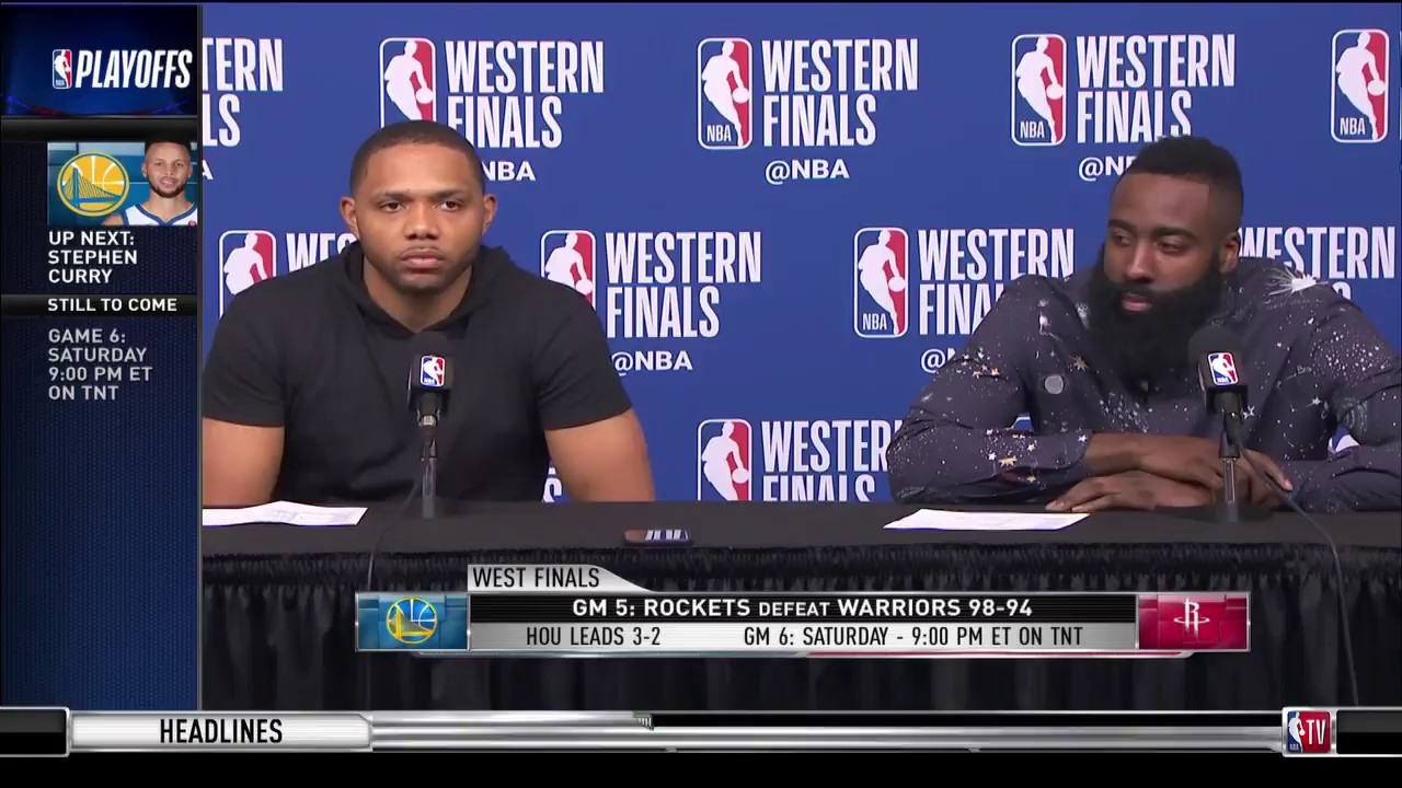 james-harden-and-eric-gordon-game-5-western-conference-finals-press-conference