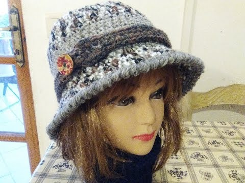 THE PERFECT CLOCHE HAT crochet tutorial any size