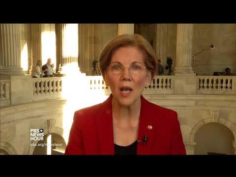 Sen. Elizabeth Warren: GOP tax plan is giveaway to giant corporations, not middle class
