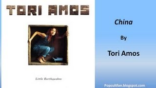 Tori Amos - China (Lyrics)