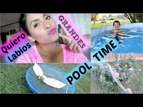 Quiero mis Labios Grandes 💋 , Swimming Time - Julio 30 , 2015  ♡IsabelVlogs♡