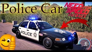 NFS Payback poursuite Crown Victoria - Voiture de Police