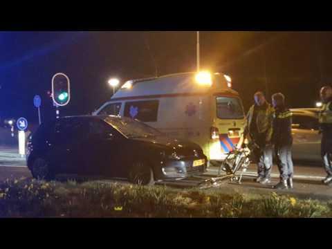 Ernstig ongeval met fietsster bij Kloosterbrug te Assen