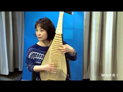 Pipa Player Wu Man plays 'Jasmine Flower' Live in the WQXR Studio