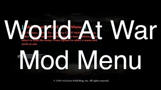 How To Install A World At War Mod Menu For Multiplayer And Zombies (No Jailbreak)