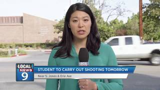 A school shooting is expected tomorrow, but you can help change #To...