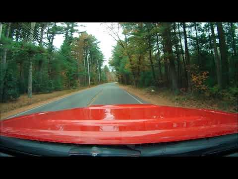 Off road in Freetown State Forest time lapse 2017