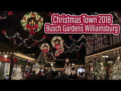 Christmas Town 2018 Busch Gardens Williamsburg