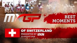MXGP BEST MOMENTS - MXGP of Switzerland presented by iXS 2018 #motocross