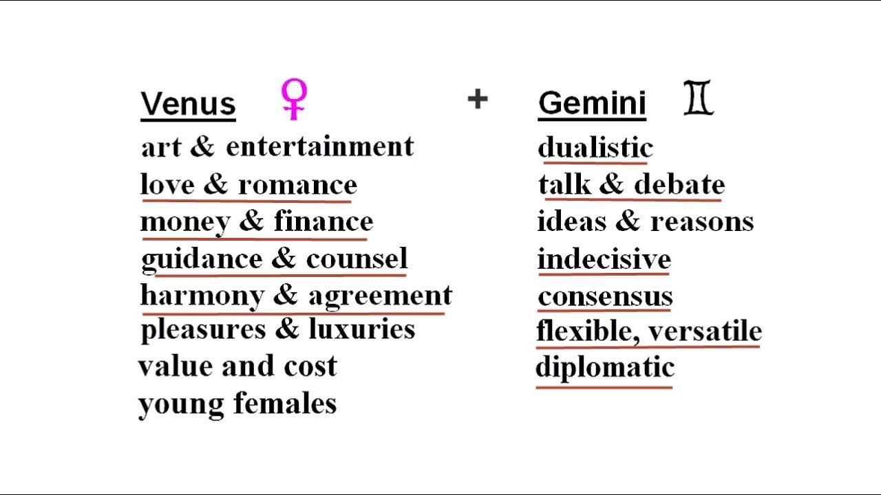 Venus In Gemini Planet Of Agreement In Sign Of Consensus Begins May