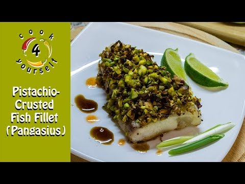 Pistachio-Crusted Fish Fillet Pangasius | Best Fish Recipe From Cook4yourself.com