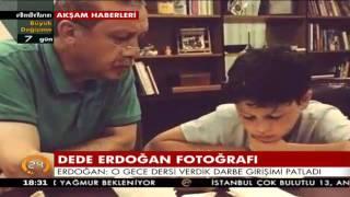 Cumhurbaşkanı, torununa Kuran-ı Kerim dersi verdiği fotoğrafın hikayesini ilk kez 24'te