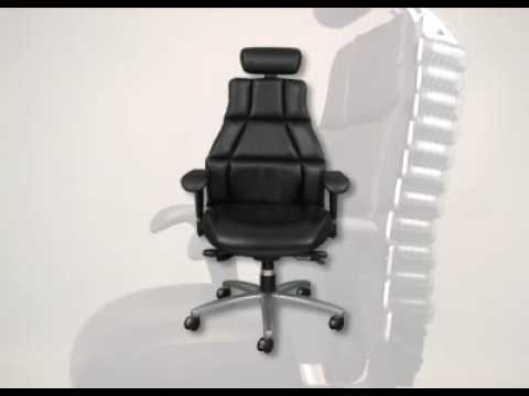 anthro ergonomic verte chair eames fiberglass rocking rfm carmel sc 1 st seating executive bit ly 17gsbgn youtube