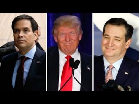How will caucus results affect the New Hampshire GOP race?