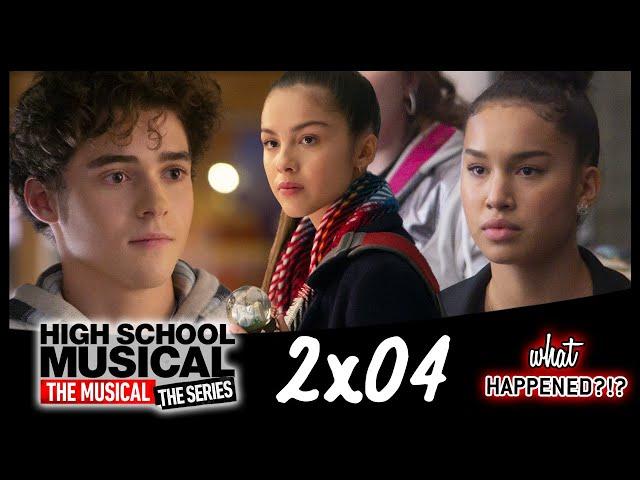 HSMTMTS 2x04 Recap - Nini's Realization, Gina v Carlos | 2x05 Promo & Theories (High School Musical)