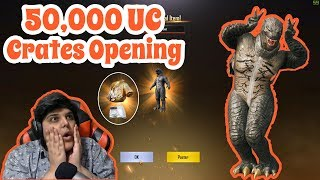 50000-uc-crates-opening-pubg-mobile-cosmic-yt