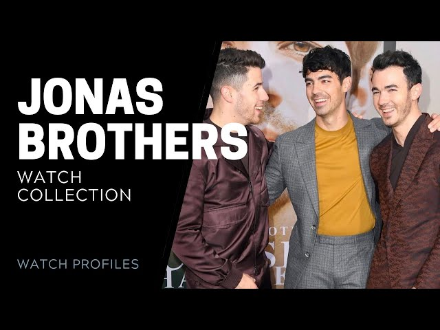 Jonas Brothers Watch Collection - Celebrity Watch Collection | SwissWatchExpo [Watch Collection]